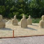 Sochy z písku - písečný svět v Lednici 15