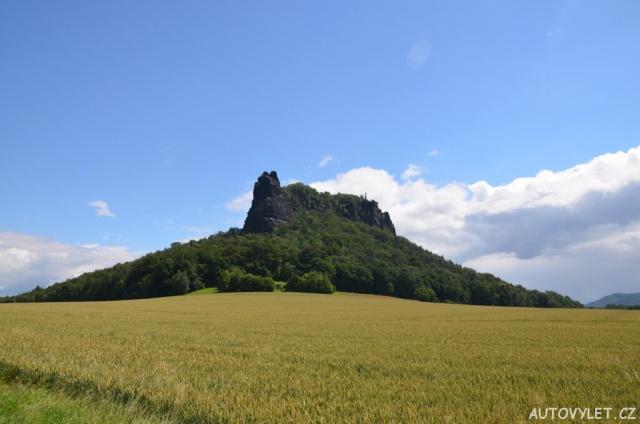 Lilienstein - stolová hora - Německo