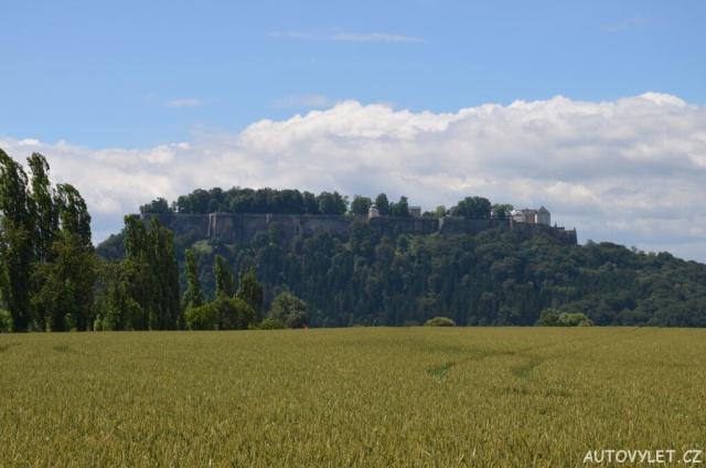 Pevnost Konigstein Německo