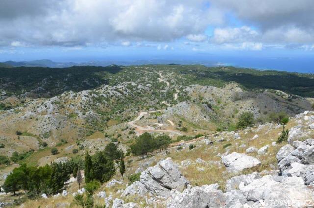 Pantokrator - nejvyšší hora Korfu 27