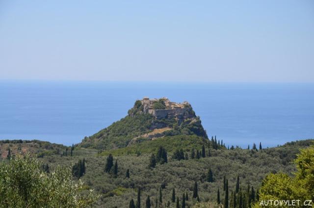Hrad Angelokastro - Řecko Korfu