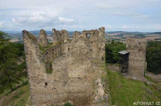 Helfenburg hrad zřícenina 22
