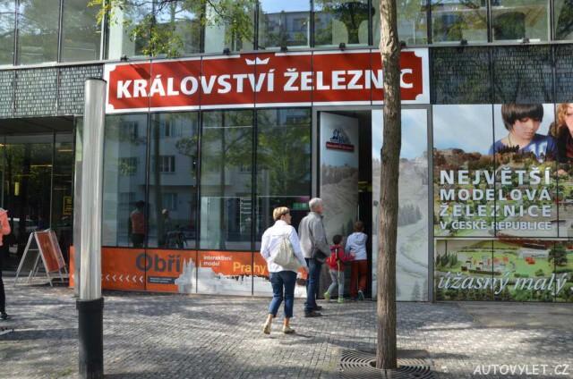 Království železnic Praha 1