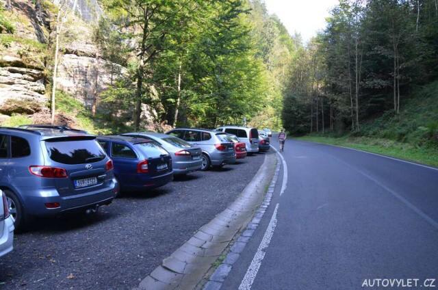 Parkování Hřensko - Pravčická brána