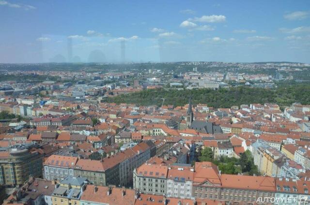 Žižkovská věž v Praze 7