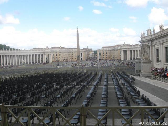 Náměstí sv. Petra Vatikán