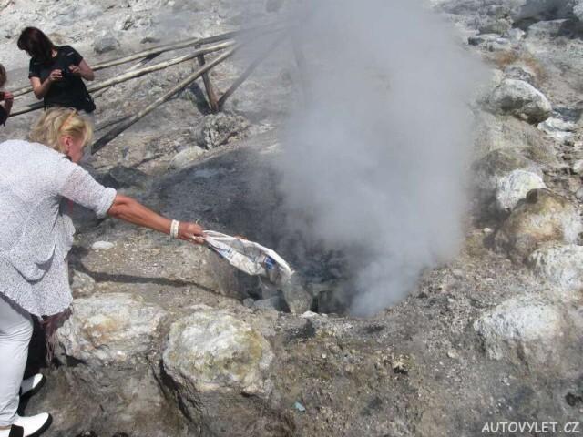 Sopka Solfatara Itálie 8