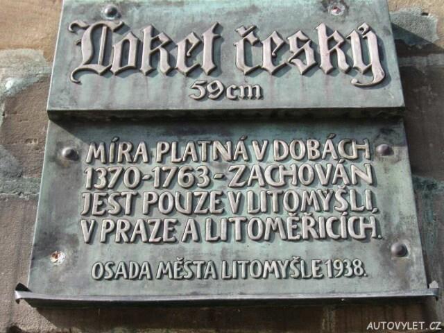 Loket český - Litomyšl