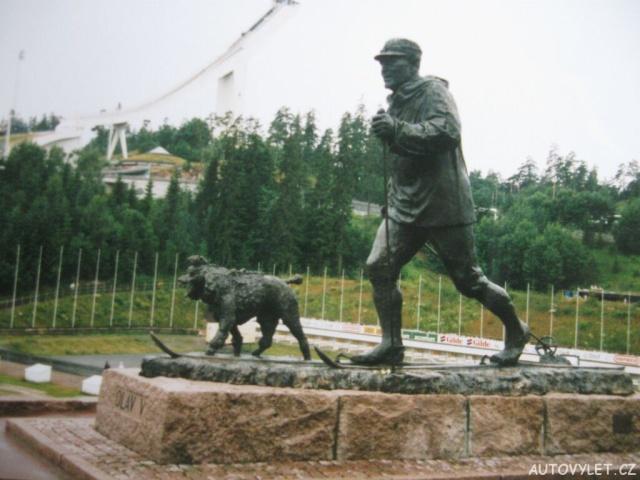 Olav V - Norsko Holmenkollen