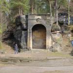 Ideální místo na svatební fotku na vyhlídce Belveder