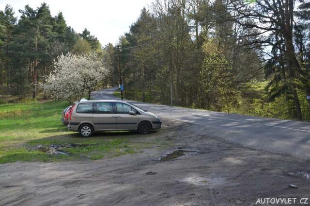 Parkování - Hrad Helfenburk u Úštěka