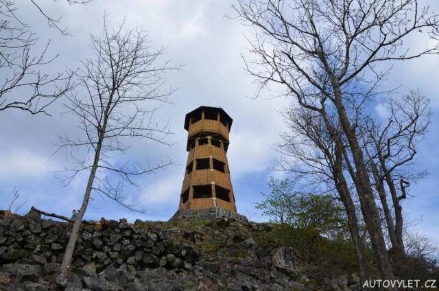 Rozhledna Strážný vrch u Merboltic 11