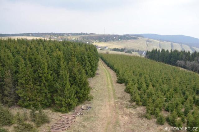 Rozhledna Vlčí hora u Oseka 11