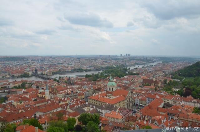 Praha z věže katedrály 2