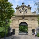 Brána na Vyšehradu v Praze