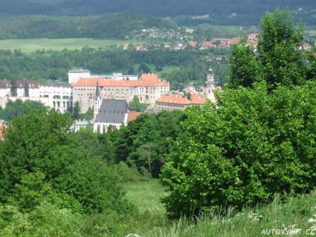 český Krumlov - Křížová hora