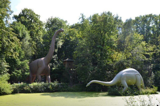 Saurierpark Kleinwelka - Dinopark Německo 7