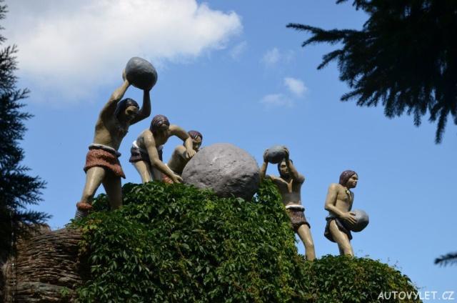Saurierpark Kleinwelka - Dinopark Německo 18