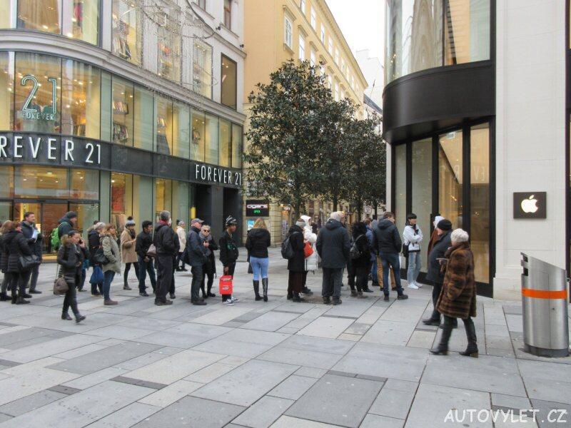 Apple Store - Vídeň Rakousko