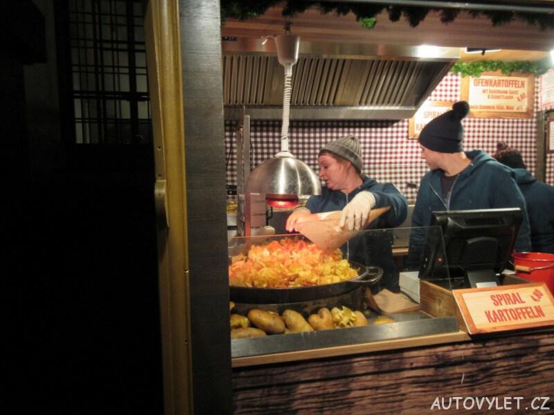 Brambůrky - Vídeň Rakousko