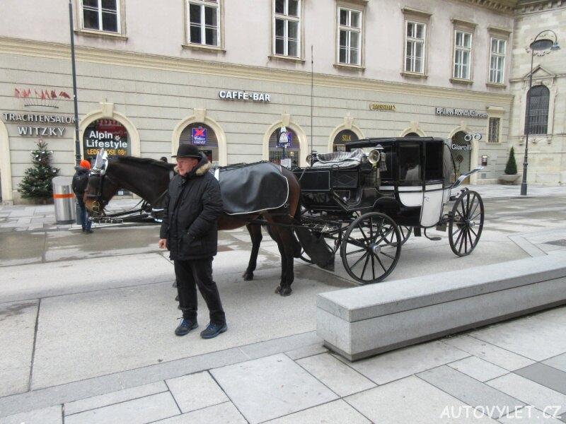 Fiakr - Vídeň Rakousko