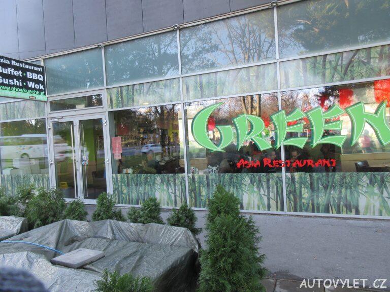 Green Asia restaurant - Prater Vídeň