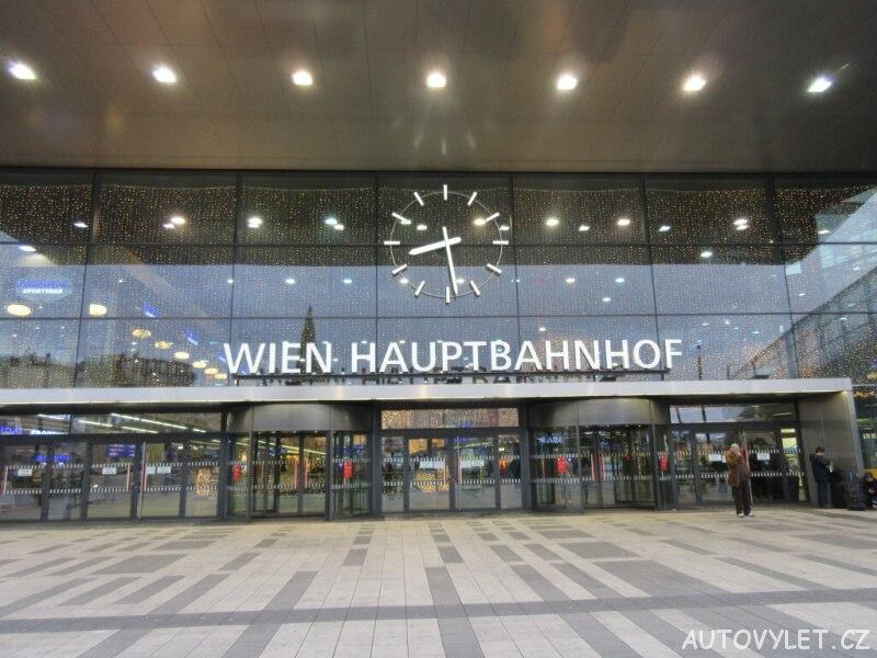 Hlavní nádraží - Vídeň Rakousko