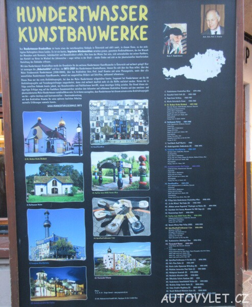hundertwasserhaus autor díla