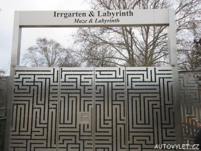 Irrgarten Schonbrunn zahrady Vídeň