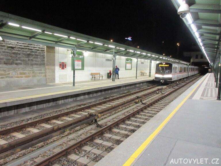 Metro - Vídeň Rakousko