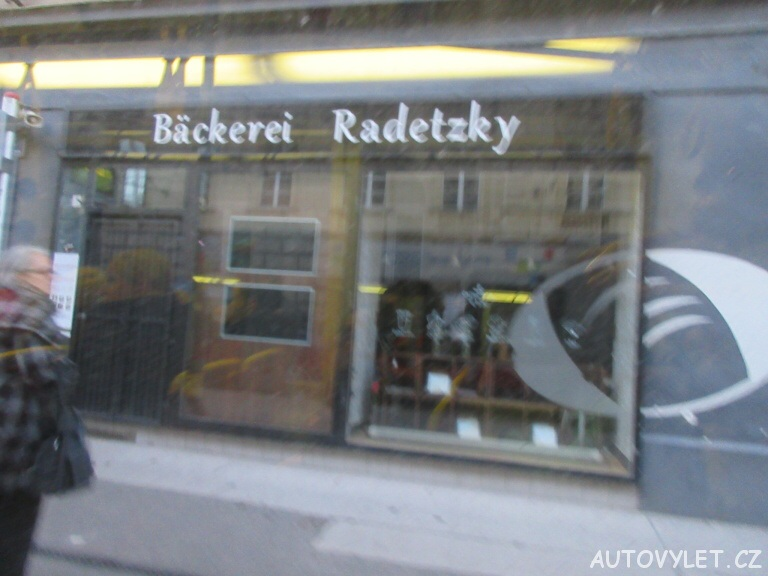 Pekárna Radetzky - Vídeň Rakousko