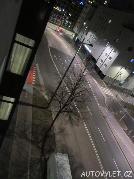 Pohled z okna hotelu - Vídeň Rakousko