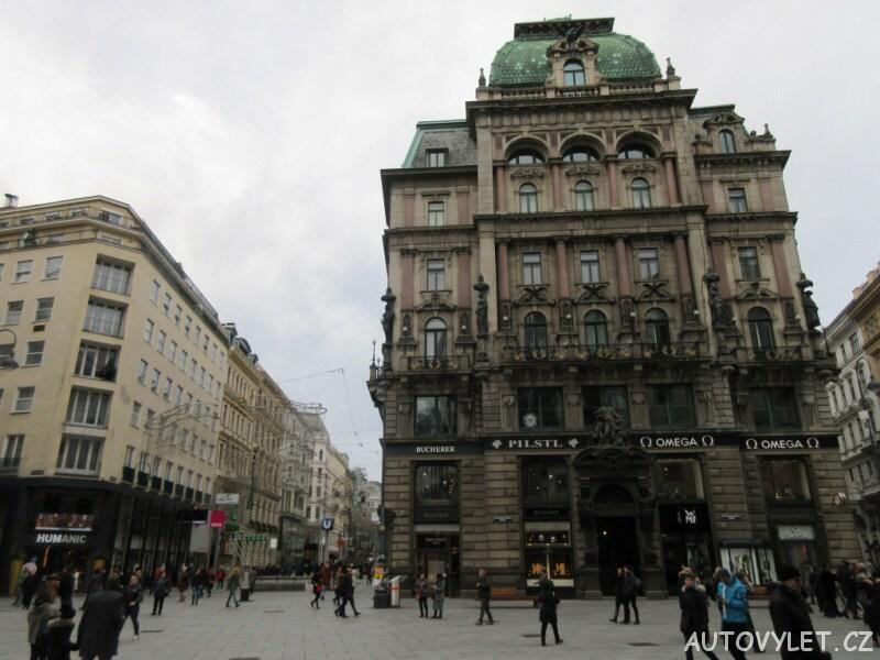 Štěpánské náměstí - Vídeň Rakousko