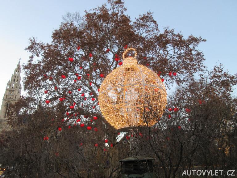 Vánoční koule - Vídeň Rakousko