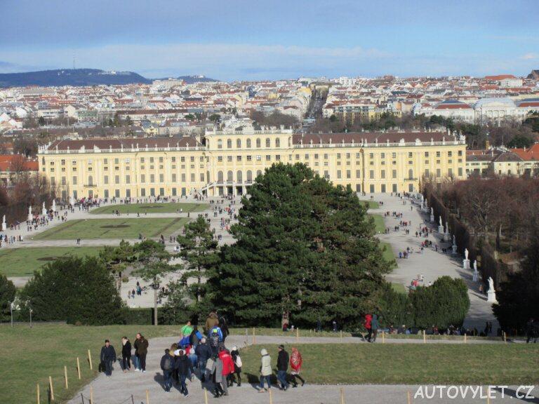 Schonbrunn zahrady Vídeň 2
