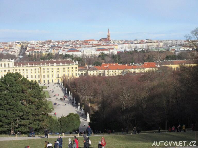 Schonbrunn zahrady Vídeň