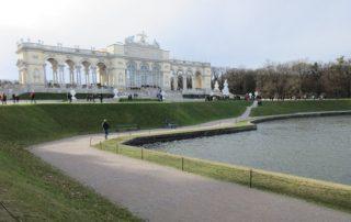 Schonbrunn zahrady Vídeň Rakousko