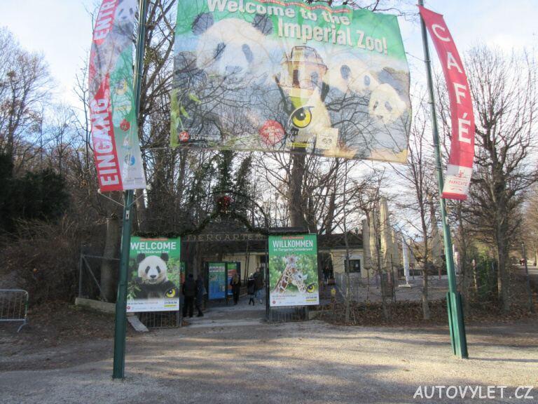 Vstup do Zoo Vídeň