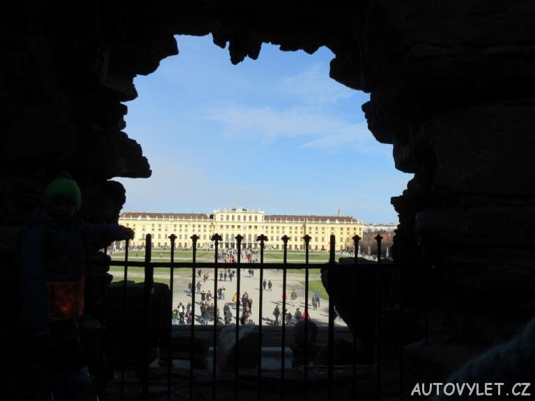 Zámek Schonbrunn Vídeň