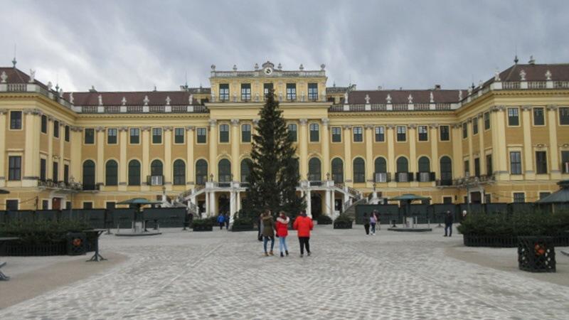 Zámek Schönbrunn - Vídeň Rakousko