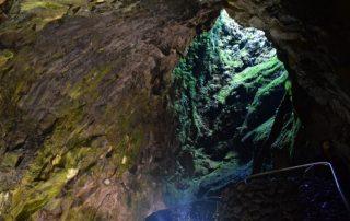 Algar do Carvao - největší vulkán - Azorské ostrovy