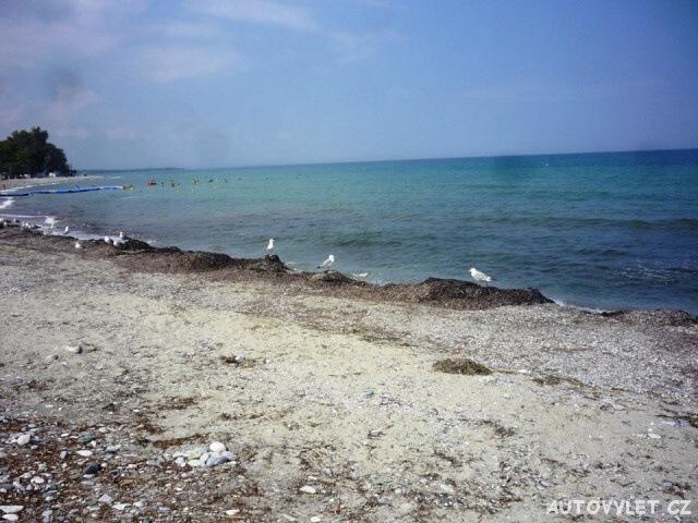 Pláž Leptokaria Řecko