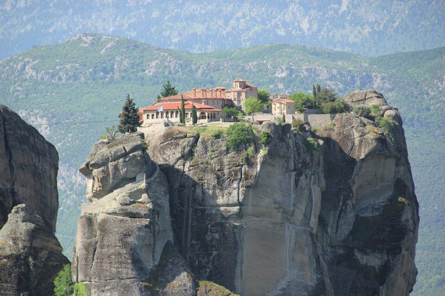 Meteora kláštery Řecko