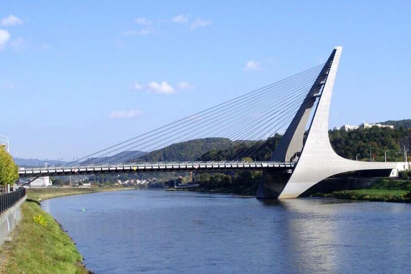 Nový most přes řeku Labe - Ústí nad Labem