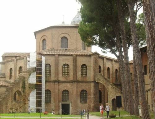 Ravenna v Itálii je historicky významné místo