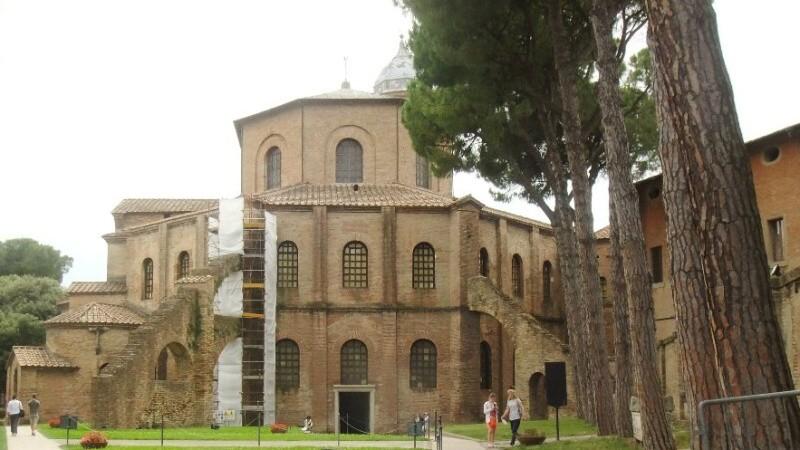 Ravenna Itálie - San Vitale