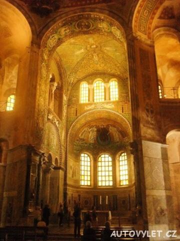 Ravenna Itálie - San Vitale 2