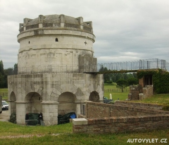 Ravenna Itálie - Theodorichovo mauzoleum
