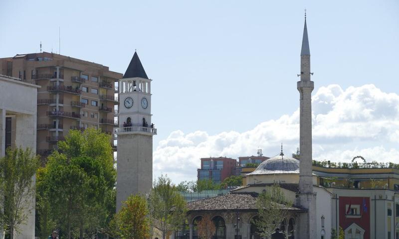 Tirana Albánie