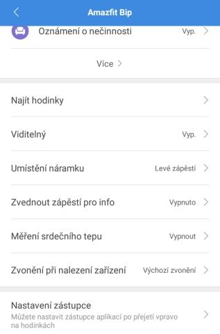 Aplikace Mi Fit 21